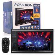 Central Multimídia Pósitron Sp8830Link Tv Digital Bluetooth Usb Sd Auxiliar