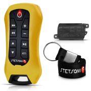 Controle Stetsom De Longa Distância Até 200M 8 Funções Sx2 Light Amarelo