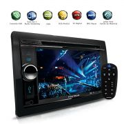 Dvd Player 2Din Com Tv Digital Bluetooth Usb Gps Integrado 6.2