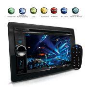 Dvd Player 2Din Com Tv Digital Bluetooth Usb Gps Integrado 6.2´´