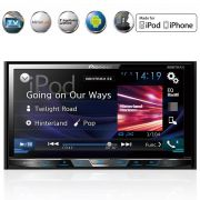 Dvd Player AVH-X598TV 2 Din 7 Polegadas Bluetooth Usb Aux Mp3 Fm Tv