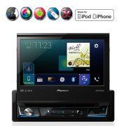 Dvd Player Mixtrax AVH-Z7080TV 1 Din 7 Polegadas Usb Bluetooth Am Fm