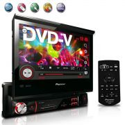 Dvd Player Pioneer 1 Din Avh 3580Dvd Usb Rca Aux 7''