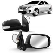 Espelho Retrovisor Externo Corolla 2008 2009 2010 2011 Elétrico Com Pisca