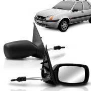 Espelho Retrovisor Externo Fiesta 96 97 98 99 2000 Controle Interno