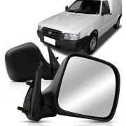 Espelho Retrovisor Externo Fiorino 2011 2012 2013 2014 Controle Manual