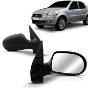 Espelho Retrovisor Externo Palio G4 2008 2009 2010 2011 2012 4 Portas Manual
