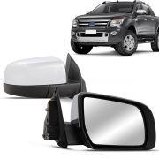 Espelho Retrovisor Externo Ranger 2013 2014 2015 Cromado Elétrico