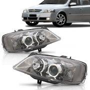 Farol Astra 2003 2004 2005 2006 2007 2008 2009 2010 Foco Duplo Cromo Onix