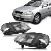 Farol Astra 98 99 2000 2001 2002 Foco Duplo Máscara Negra