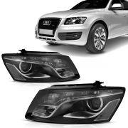 Farol Audi Q5 2009 2010 2011 2012 Xenon Led