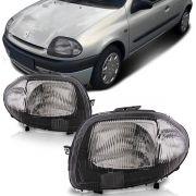 Farol Clio 2000 2001 2002 Máscara Negra