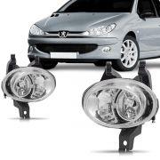 Farol Milha Peugeot 206 98 99 2000 2001 2002 2003