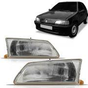 Farol Peugeot 106 91 92 93 94 95 96 Cromado