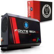 Fonte Carregador De Bateria 150A Bivolt Automatico