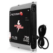Fonte Carregador Bateria Stetsom 0 a 75 Amperes Fc 75