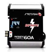 Fonte Carregador Digital Bateria Stetsom Infinite 60A