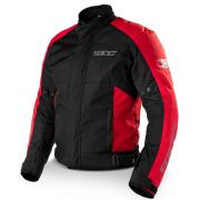Jaqueta Moto Ronin Impermeável Protetor Costas Ombro E Cotovelo Vermelha