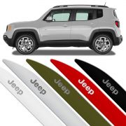 Jogo Friso Lateral Jeep Renegade 2015 2016