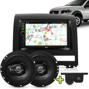 Kit Multimidia Mp5 Palio Strada Weekend Idea 04 A 12 + Moldura Camera Ré Sensor Par Falante 6