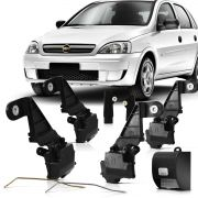 Kit Trava Eletrica Corsa 4 Portas 2002 2003 2004 2005 2006 2007 2008 2009 2010 2011 2012 2013