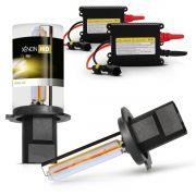Kit Xenon H1 - H3 - H7 - H11 - HB3 - HB4 - 12V 3000K DC Gold