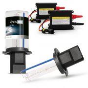 Kit Xenon H1 - H3 - H7 - H11 - HB3 - HB4 - 12V 6000K DC