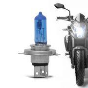 Lâmpada H4 Lsb Moto Super Branca Dc 12V Individual