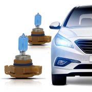 Lampada Super Branca H16 12V Crystal Blue Power