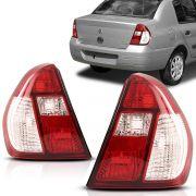 Lanterna Clio Sedan 2005 2006 2007 2008 2009 2010 Pisca Cristal
