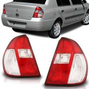 Lanterna Clio Sedan 2004 2005 2006 2007 2008 2009 2010 Pisca Cristal