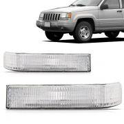 Lanterna Dianteiro Inferior Gran Cherokee 1993 1994 1995 1996 1997 1998 Cristal