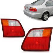 Lanterna Civic 99 2000 Tricolor Mala