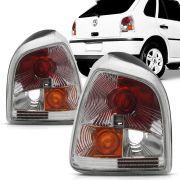 Lanterna Gol 1995 1996 1997 1998 1999 Cristal Modelo Cibie Evolution