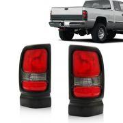 Lanterna Dodge Ram 94 95 96 97 98 99 Fumê