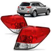 Lanterna Subaru Outback 2010 2011 2012 2013 2014 Bicolor Canto