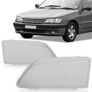 Lente Farol Peugeot 306 93 94 95 96 Foco Simples