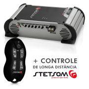 Modulo Amplificador 1K6EQ Digital Vulcon 1600W Rms 1 Canal 2 Ohm + Controle SX2 Preto