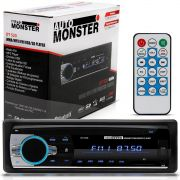 Mp3 Player Auto Radio Fm WMA Bluetooth USB SD Auxiliar