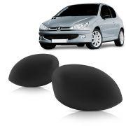 Par Capa Retrovisor Peugeot 206 207 99 2000 2001 2002 203 2004 2005 2006 2007 2008 2009 2010
