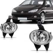 Par Farol Milha Peugeot 206 2004 2005 2006 2007 2008 2009 2010