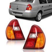 Par Lanterna Clio Sedan 2001 2002 2003 2004 Pisca Ambar