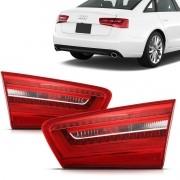 Par Lanterna Audi A6 2012 2013 2014 Mala Led