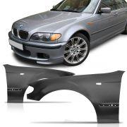 Par Paralama Dianteiro BMW Serie 3 2001 2002 2003 2004 2005