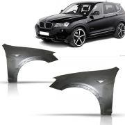 Par Paralama Dianteiro BMW X3 2011 2012 2013 2014