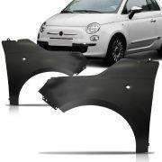 Par Paralama Dianteiro Fiat 500 2007 2008 2009 2010 2011 2012