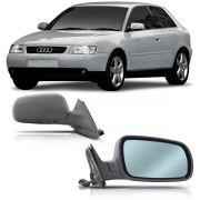 Par Retrovisor Audi A3 2 Pt 2001 2002 2003 2004 2005 2006 Elétrico Com Desembaçador