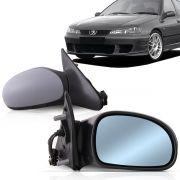 Par Retrovisor  Externo Peugeot 406 2000 2001 2002 2003 2004 Elétrico Com Aquecedor