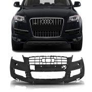 Parachoque Dianteiro Audi Q7 2008 2009 2010 2011 2012 Com Furo Para Milha
