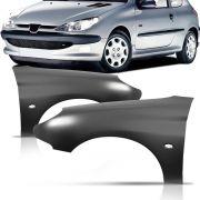 Paralama Dianteiro Peugeot 206 99 2000 2001 2002 2003 2004 2005 2006 2007 2008 2009 2010 2011
